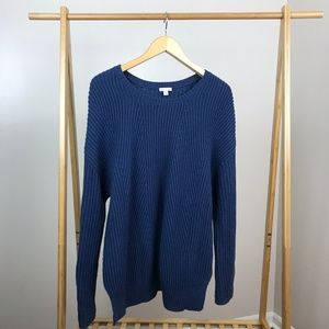 Gap • Lambs Wool Ribbed Sweater Size Extra Large